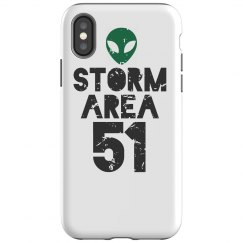 Area 51 Alien Phone Case