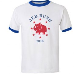 Jeb Bush Ringer Shirt