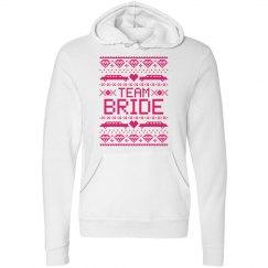 Team Bride Hoodie Ugly Christmas