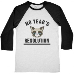 Grumpy Cat's New Year's Resolution