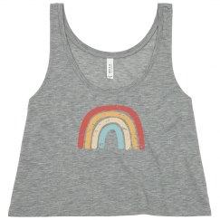 Rainbow - Crop Top