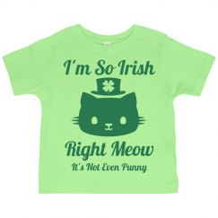 Kids Love St Pat Cat Puns