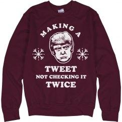 Trumps Christmas Tweets