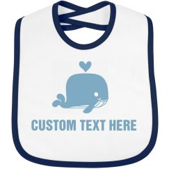 Custom Baby Gift With Cute Whale