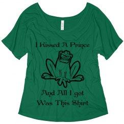 I Kissed A Prince.....