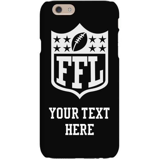 Fantasy Football League Custom Phone Case