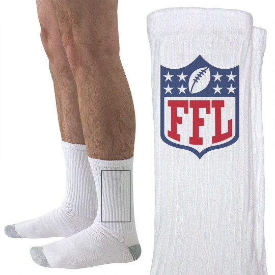 Fantasy Football League Socks