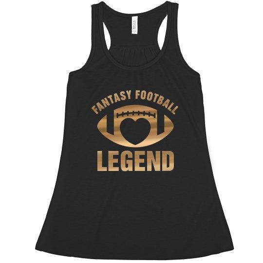 Fantasy Football Legend Metallic