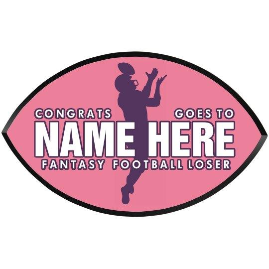 Fantasy Football Loser