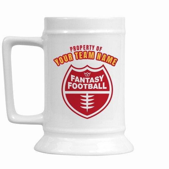 Fantasy Football Stein