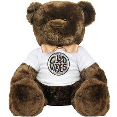 Spread Good Vibes bear