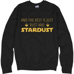 Rogue Stardust Graphic Quote