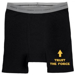 Trust The Force Funny Mens Boxers