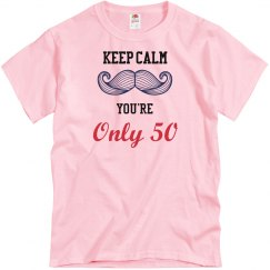 Keep Calm on 50th Birthday