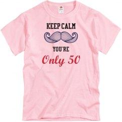 Keep Calm on 50th Birthday
