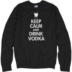 Keep Calm Drink Vodka