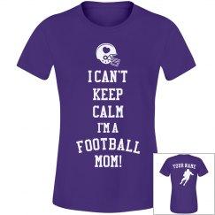 Keep Calm Football Mom
