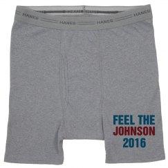 I Feel The Gary Johnson