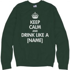 Drink Yourself Green Keep Calm