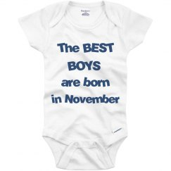 Best boys born in November