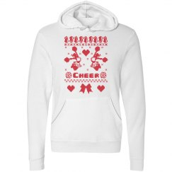 Ugly Christmas Hoodies Cheergirls