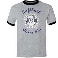 Softball Dad Tee
