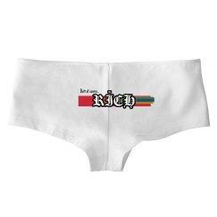Rīch Butt of Course womens underwear