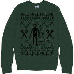 Ugly Couples Christmas Sweatshirt