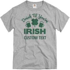 Custom Irish Drinking Shirts