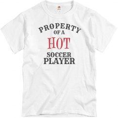 Hot Soccer Player