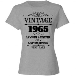 Vintage 1965 living legend