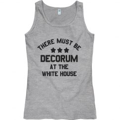 There Must Be Decorum