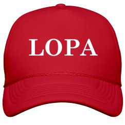 LOPA Leave Our President Alone MAGA hat