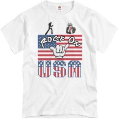 Rock On USA T-Shirt
