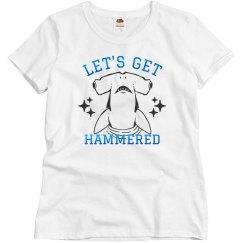 Metallic Let's Get Hammered