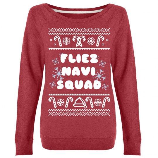 Feliz Navi-Squad Ugly Sweater
