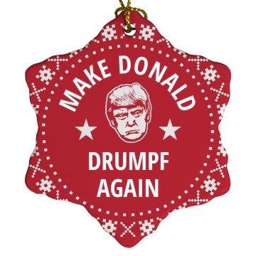 Festive Make Donald Drumpf Again