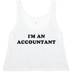I'm An Accountant Crop