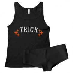Ladies Tank Top & Underwear Sleepwear Set