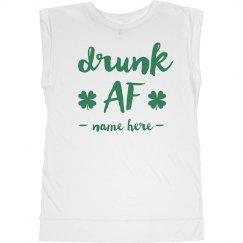 Custom Drunk AF St. Patrick's Day