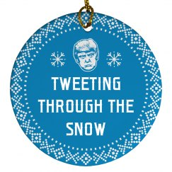 Trump Is Tweeting Through The Snow