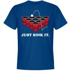 Just Sink It Beer Pong