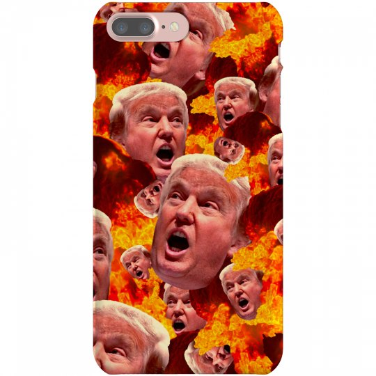 Fire & Fury Funny Donald Trump Gift