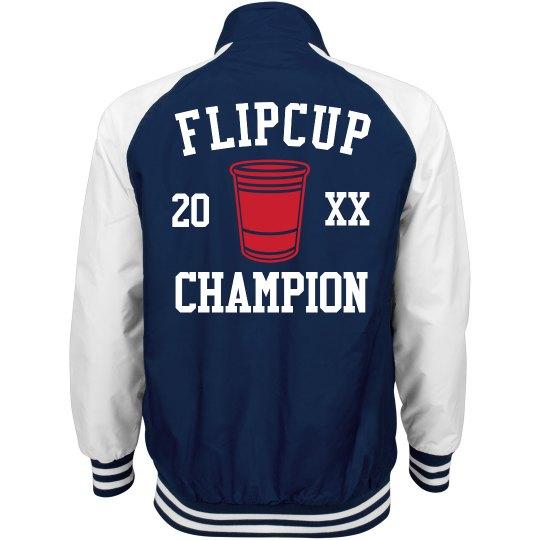 Flipcup Champion!