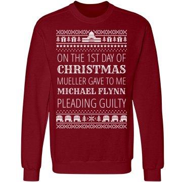 Flynn Guilty Mueller Xmas Sweater