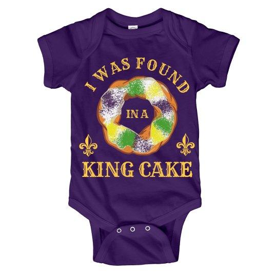 Found In A King Cake Onesie