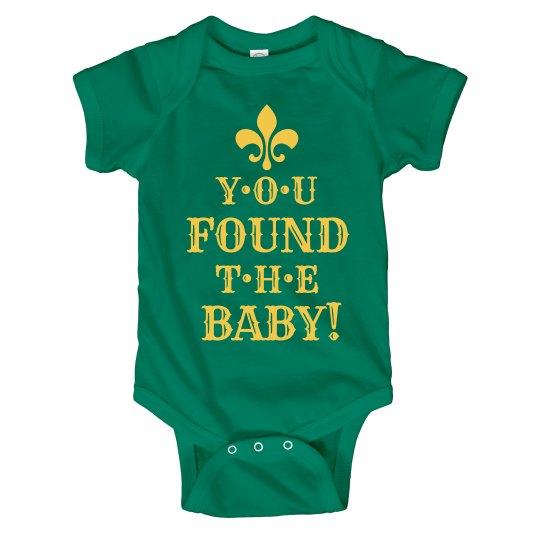 Found The Baby Mardi Gras