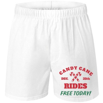 Free Naughty Candy Cane Rides