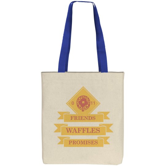 Friends Waffles Promises Tote