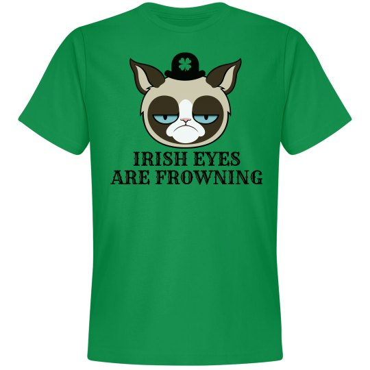 Frowning Irish Eyes St Patricks